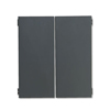 Filing cabinets: HON® 38000 Series™ Flipper Doors for Stack-On Open Shelf Unit