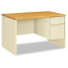 Pedestal Desks: HON® 38000 Series™ Single Pedestal Desk