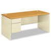 Desks & Workstations: HON® 38000 Series Single Pedestal Desk