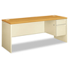 Desks & Workstations: HON® 38000 Series™ Single Pedestal Credenza