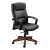 leatherchairs: HON® 5000 Series Park Avenue Collection® Executive High-Back Knee Tilt Chair