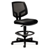 leatherchairs: HON® Volt® Series Mesh Back Adjustable Leather Task Stool