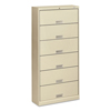 Filing cabinets: HON® Brigade® 600 Series Six-Shelf File with Receding Doors