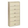 HON HON® Brigade® 600 Series Six-Shelf File with Receding Doors HON 626LL