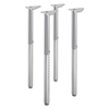 table bases: HON® Build™ Adjustable Post Legs