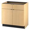 Filing cabinets: HON® Modular Hospitality Double Base Cabinet