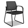 chairs & sofas: HON® Ignition® Series Mesh Back Guest Chair with Sled Base