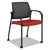 chairs & sofas: HON® Ignition® Series Mesh Back Mobile Stacking Chair