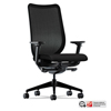 chairs & sofas: Nucleus Series Work Chair, Black ilira-stretch M4 Back, Black Seat