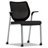 chairs & sofas: HON® Nucleus® Series Multipurpose Stacking Chair with ilira®-Stretch M4 Back