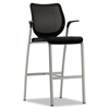 HON® Nucleus® Series Caf-Height Stool with ilira®-Stretch M4 Back