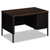 HON HON® Metro Classic Series Single Pedestal Desk HON P3251RMOP