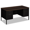 Desks & Workstations: HON® Metro Classic Series Double Pedestal Desk