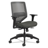 meshchairs: Solve Series ReActiv Back Task Chair, Ink/Charcoal