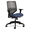 chairs & sofas: Solve Series ReActiv Back Task Chair, Midnight/Charcoal