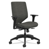 HON Solve Series Upholstered Back Task Chair, Ink HON SVU1ACLC10TK
