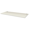 Tables: Voi Rectangular Worksurface, 48w x 24d, Brilliant White