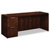 HON HON® Arrive™ Wood Veneer Series Single Pedestal Credenza HON VW271LC1Z9FF