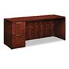 HON HON® Arrive™ Wood Veneer Series Single Pedestal Credenza HON VW271LC1Z9JJ