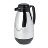 water dispensers: Hormel Vacuum Glass Lined Chrome-Plated Carafe