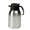 water dispensers: Hormel Stainless Steel Lined Vacuum Carafe