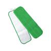 Hospeco Microfiber Velcro Wet Flat Mop HSC2504-MFFP-18G