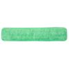 Hospeco Microfiber Velcro Wet Flat Mop HSC2504-MFFP-24G