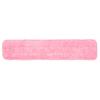 Hospeco Microfiber Velcro Wet Flat Mop HSC2504-MFFP-24R