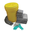 Hospeco AllSorb™Universal Spill Kit Over Packs, 30 Gallon Pail HSC AS-SK30G