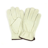 safety and security: Hospeco - ProWorks® Standard Grain Cowhide Driver Gloves