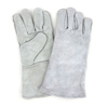 Safety-zone-leather-gloves: Hospeco - Grey Leather Welders Gloves