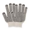 Hospeco ProWorks® PVC Dotted String Knit Gloves HSC GWSKDB2