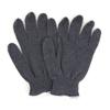 Hospeco ProWorks® Grey Medium Weight-String Knit Gloves HSC GWSKG-L