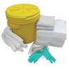 Hospeco AllSorb™Oil Only Spill Kit Over Packs, 20 Gallon Pail HSC OS-SK20G