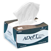 cleaning chemicals, brushes, hand wipers, sponges, squeegees: Hospeco - Adept® Lite Duty Tissue Wipes - 1 Ply