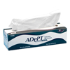 cleaning chemicals, brushes, hand wipers, sponges, squeegees: Hospeco - Adept® Lite Duty Tissue Wipes - 3 Ply