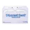toilet seat cover and toilet seat cover dispensers: Hospeco - Health Gards® Half-Fold Toilet Seat Covers