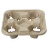 Chinet Chinet® StrongHolder® Molded Fiber Cup Trays HTM FIELD