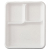 Chinet Chinet® Molded Fiber Cafeteria Trays HTM VAGRANT
