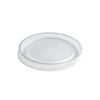 Huhtamaki High Heat Vented Plastic Lids HUH 89107