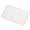 IV Supplies IV Kits Trays: Chinet® Molded Fiber Cafeteria Trays