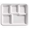 Huhtamaki Chinet® Molded Fiber Cafeteria Trays HUH VALLEY