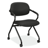 HON VL300 Series Upholstered Nesting Chair with Arms BSXVL303MM10T