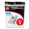 Hoover Hoover® Commercial HEPA™ Y Vacuum Replacement Filter/Filtration Bag HVR AH10040