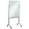 dry erase boards: Iceberg Clarity Glass Mobile Presentation Easel