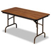 Extension Kits 2.5 Foot: Iceberg Premium Wood Laminate Folding Table
