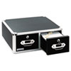 Ideastream Vaultz® Two Drawer Locking Index Card Cabinet IDE VZ01397