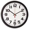 Chicago Lighthouse Chicago Lighthouse Black Quartz CONTRACT Clock ILC 67700000