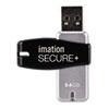 Imation imation® Secure+ Hardware-Encrypted Flash Drive IMN 28908