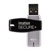 Imation imation® Secure+ Hardware-Encrypted Flash Drive IMN 28910